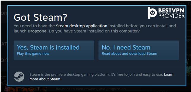 got steam desktop app installation