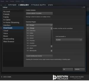 dropzone download region steam