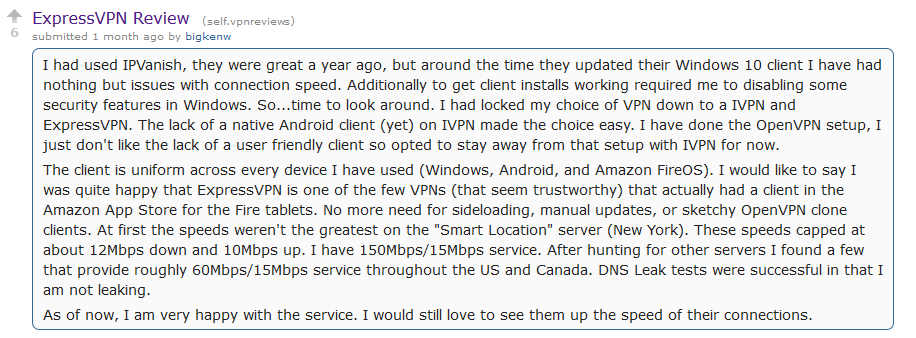Reddit Best VPN - ExpressVPn
