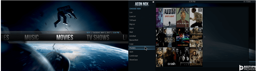 aeon nox best kodi krypton skins