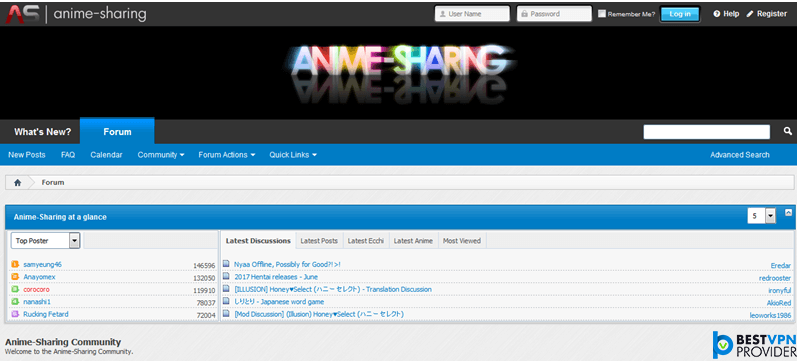 anime-sharing is 6th nyaa alternative