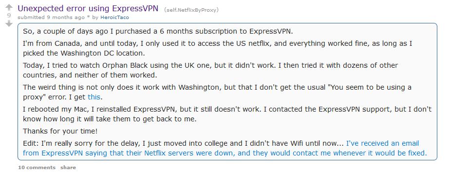 best vpn reddit - ExpressVPN
