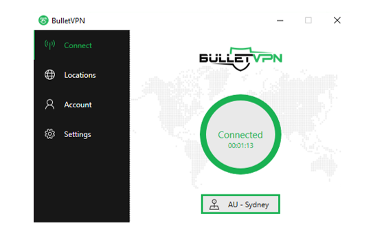 bulletvpn windows client