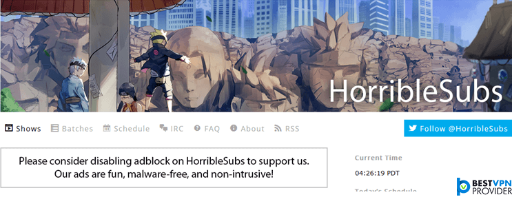 horriblesubs best nyaa alternatives