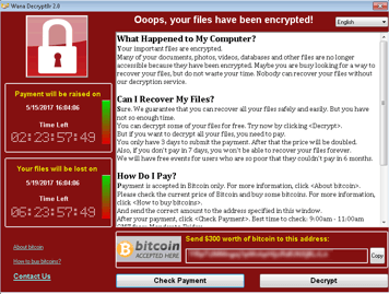 how to protect your data from ransomware wanacry
