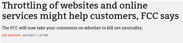 kill net neutrality fcc