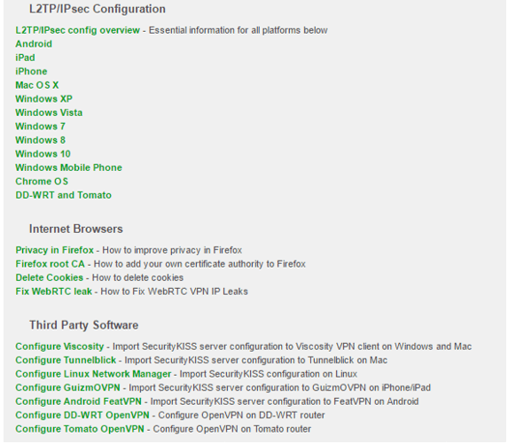 securitykiss l2tp ipsec configuration