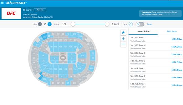 ufc 211 tickets