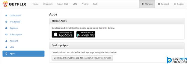 Getflix Apps Setup