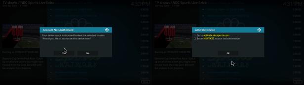 NBC Sports Live Extra Legacy kodi addon