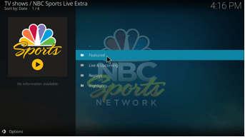 NBC Sports Live Extra Legacy