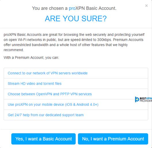 Proxpn account