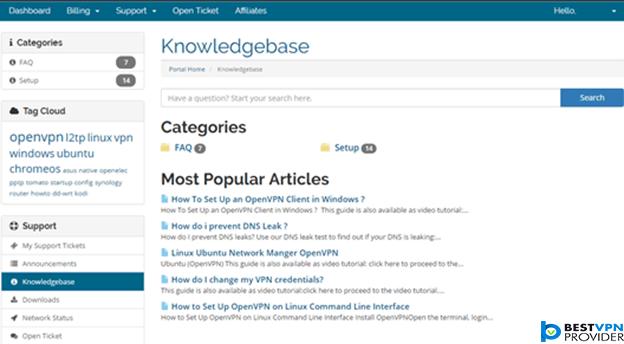 vpn.ht knowledgebase