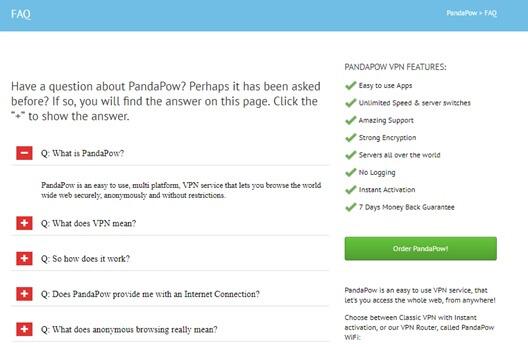 PandaPow FAQ