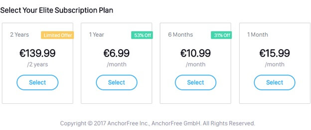 Hotspot Shield Pricing and Plans Review