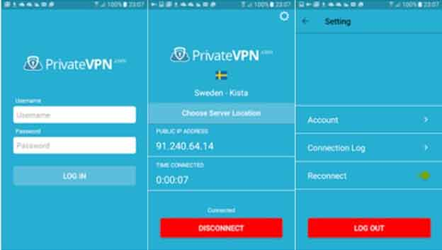PrivateVPN Android Compatibility
