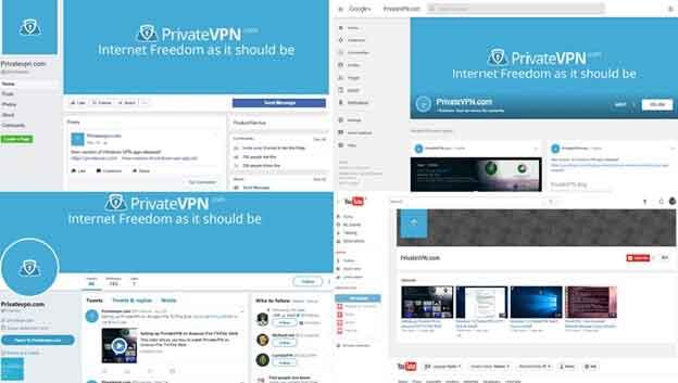 Privatevpn customer social support