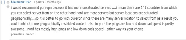 PureVPN Reddit VPN