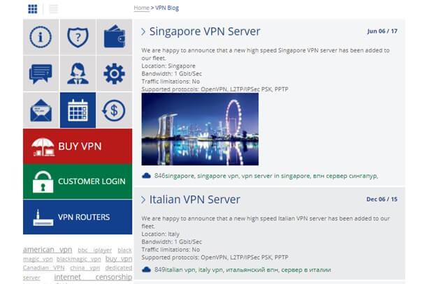 VPN Land Singapore
