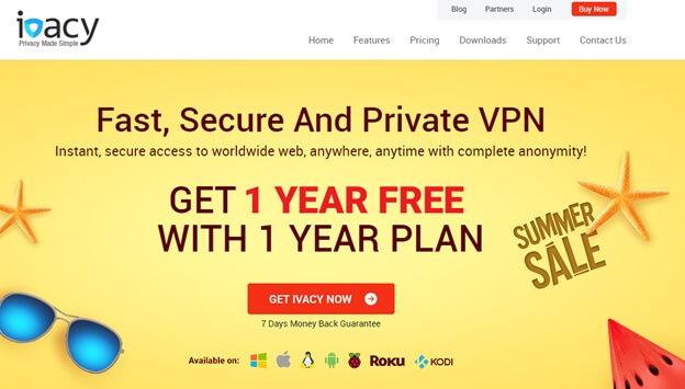 Ivacy India VPN