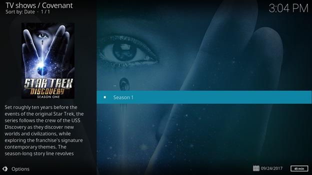 How to Watch Star Trek Discovery on Kodi