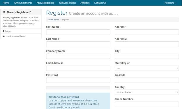 VPN Master register