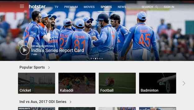 Australia vs. India T20 Cricket Live Online Streaming