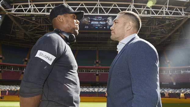 how to watch Joshua vs pulev