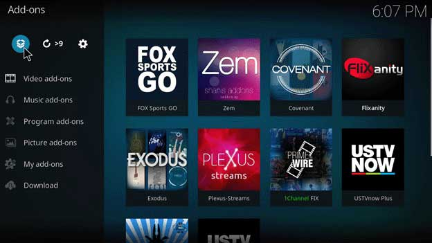 the beast kodi configuration