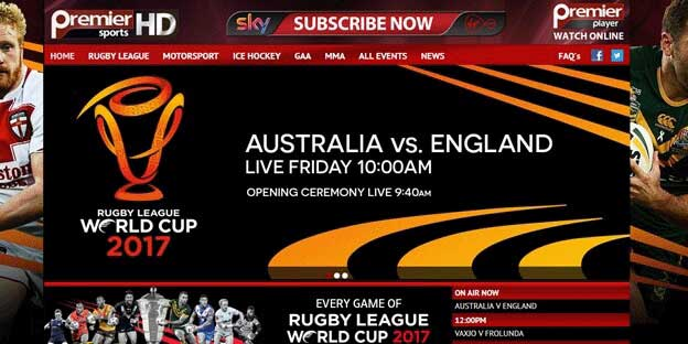How to Watch Rugby League World Cup on Sky Premier Sports HD