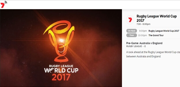 How to Watch Rugby League World Cup Online Free