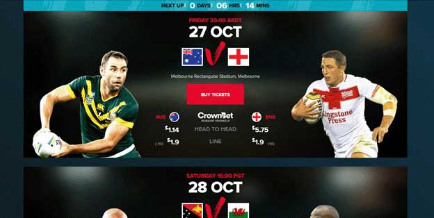 Rugby League World Cup Schedule