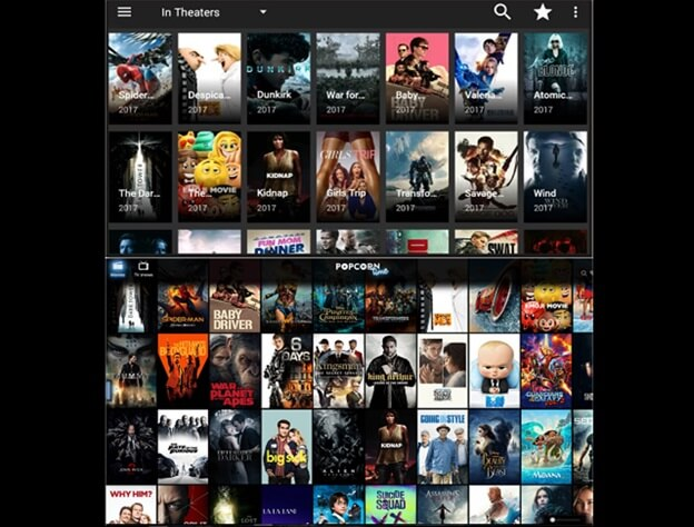 Terrarium TV vs Popcorn Time
