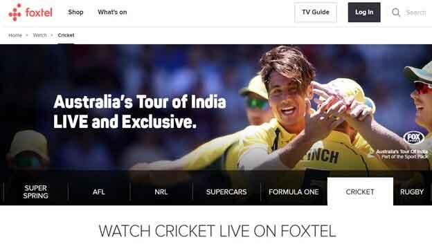 How to Watch Australia vs. India T20 in Australia