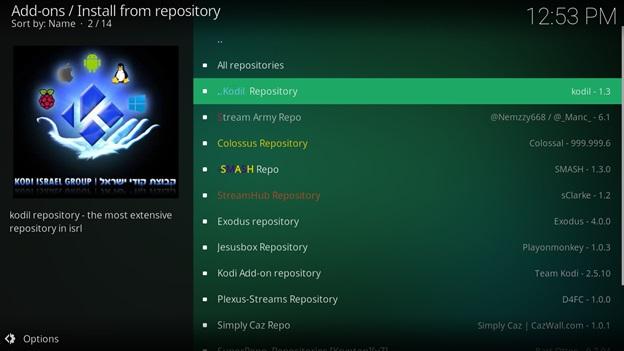 ccloud kodil repository