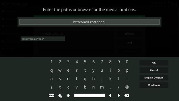 ccloud kodi setup