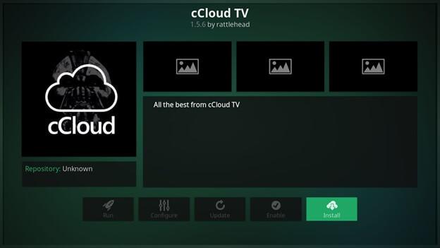 ccloud kodi final step
