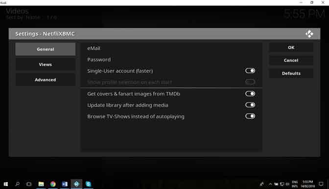 How to Install Kodi Netflix Add-on on Windows