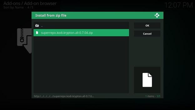 how to add tubi tv on kodi