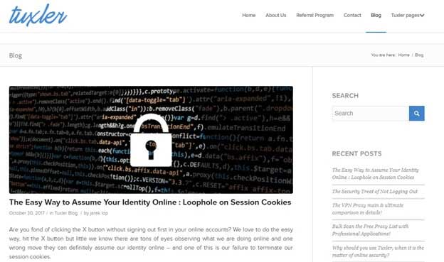 Tuxler VPN Blog
