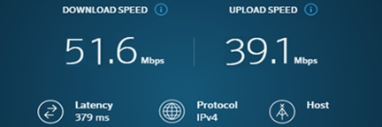 ExpressVPN Speed as compare to nord
