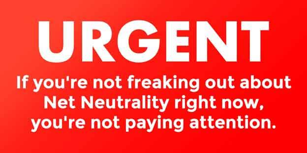 Net Neutrality Warning